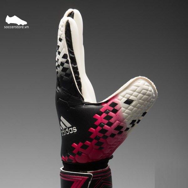 Găng tay thủ môn Adidas Predator Competition Black- White- Berry-Slime