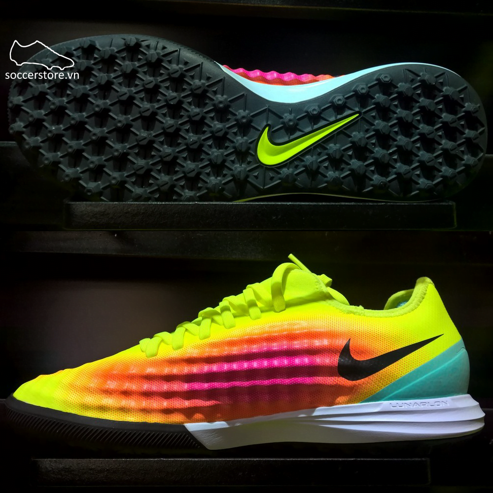 dabbaf7a4573 Nike MagistaX Finale II TF- Volt  Black  Total Orange 844446-708