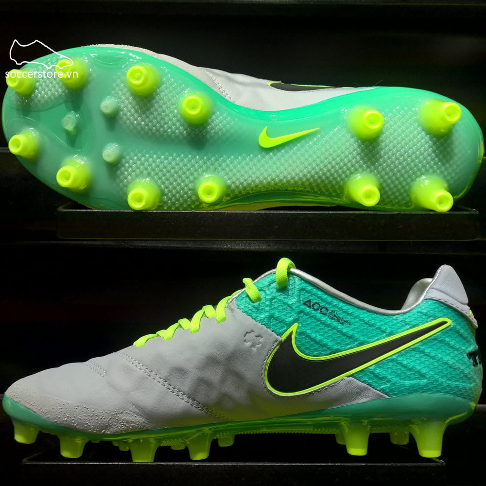 on sale da52c 5828f Nike Tiempo Legend VI AG-Pro- Wolf Grey/ Black/ Clear Jade ...