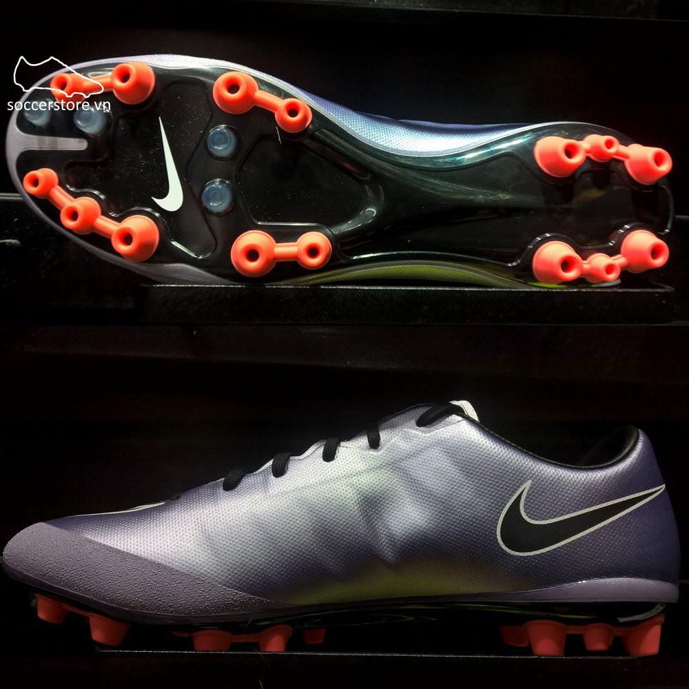 6fdb6e28b5 Nike Mercurial Veloce II AG-R – Urban Lilac  Black  Bright Mango  White  717377-580