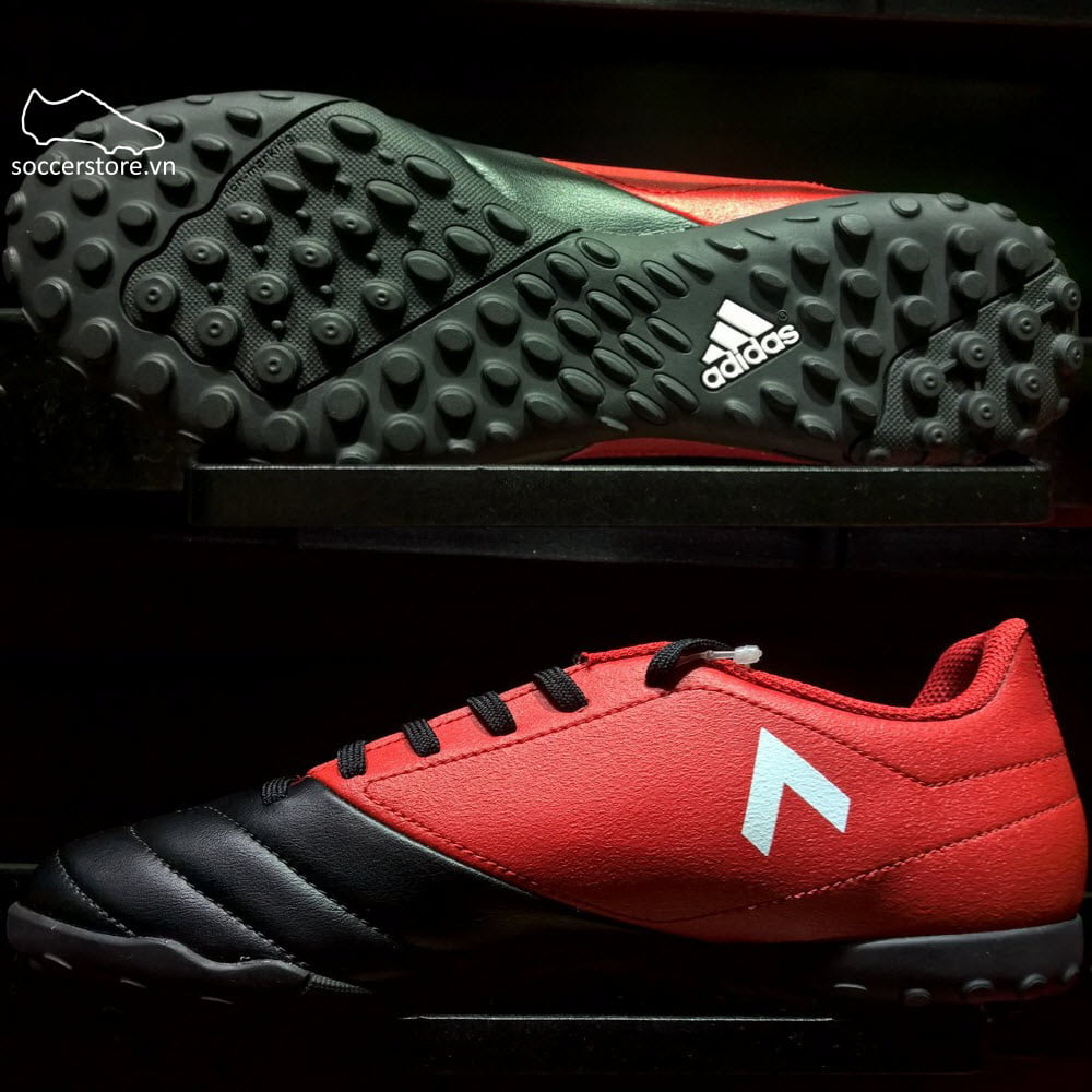 Adidas Ace 17.4 TF- Red/ White/ Core Black BB1771