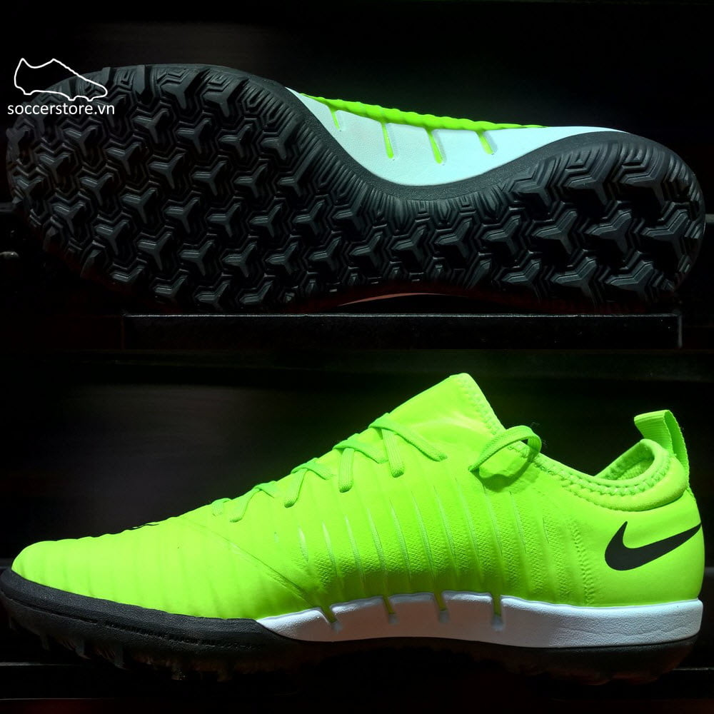 Nike MercurialX Finale II TF- Flash Lime/ Black/ White 831975-301