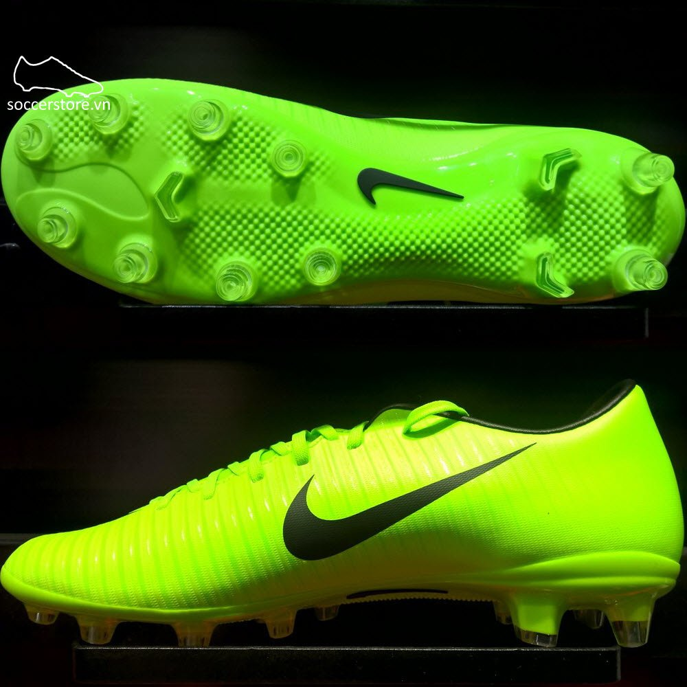 Nike Mercurial Victory VI AG Pro- Electric Green/ Black/ Flash Lime 831963-303