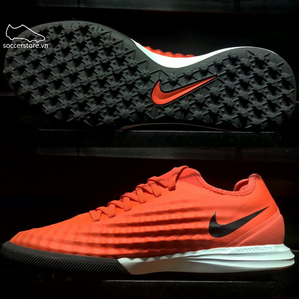 Nike MagistaX Finale II TF- Max Orange/ Black/ Total Crimson 844446-808
