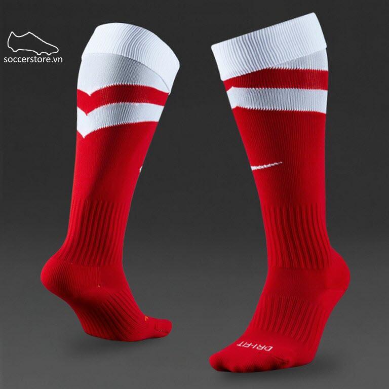 Tất Nike Vapor- Red/ White 507816-657