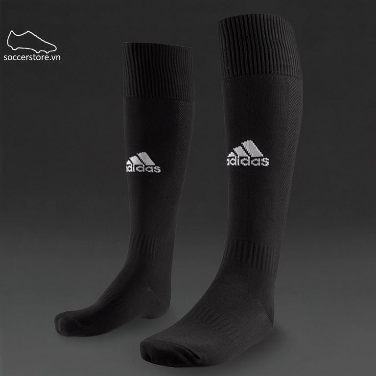 Tất Adidas Milano Team socks- Black/ White E19301