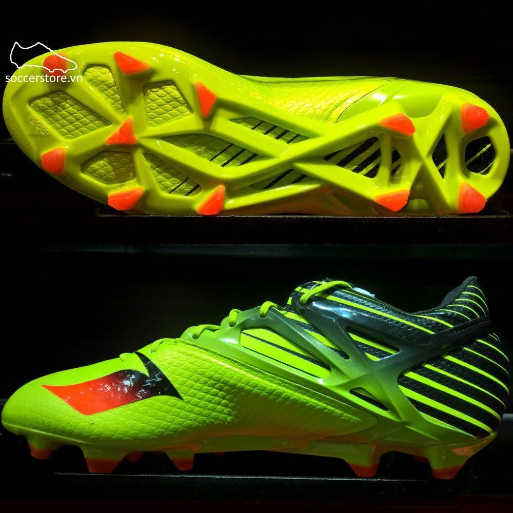 Adidas Messi 15.1 FG/AG- Semi Solar Slime/ Solar Red/ Core Black S74679
