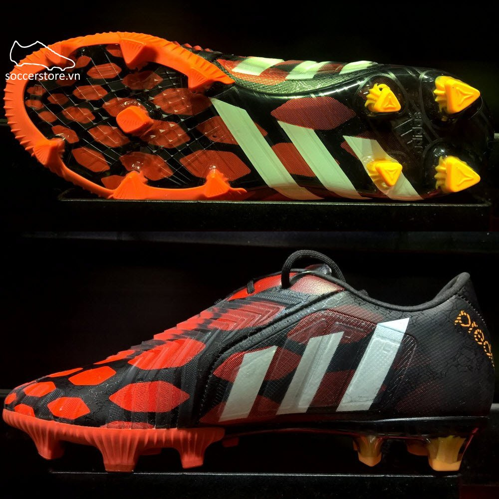 Adidas Predator Instinct FG- Black/ Running White/ Infrared M17643