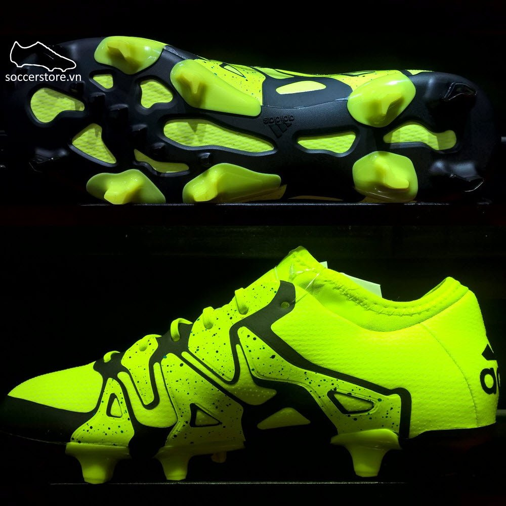 Adidas X 15.1 FG/AG- Solar Yellow/ Core Black B32782
