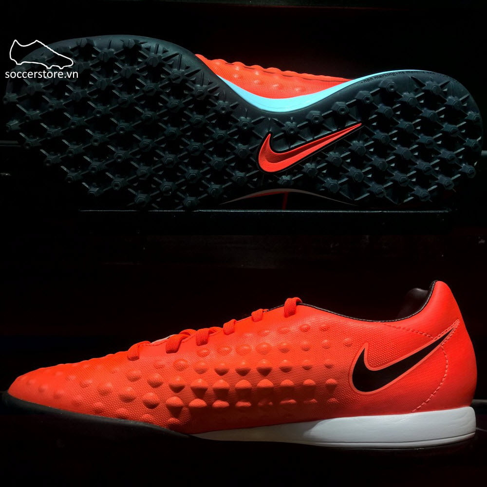 Nike Magista Onda II TF- Total Crimson/ Black/ Bright Mango 844417-808