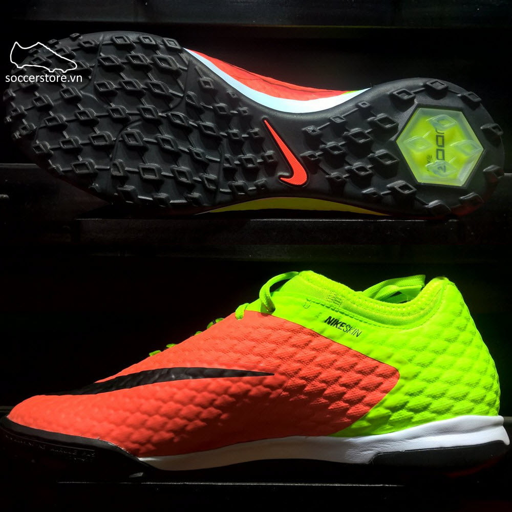 Nike HypervenomX Finale II TF- Electric Green/ Black/ Hyper Orange 852573-308