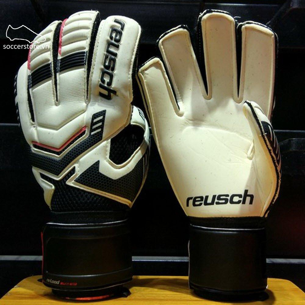 Reusch Reload Prime M1- White/ Black GK Gloves 3570162-101
