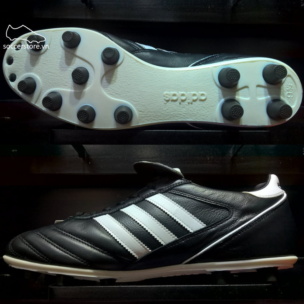 Adidas Kaiser 5 Liga FG- Black/ White/ Red