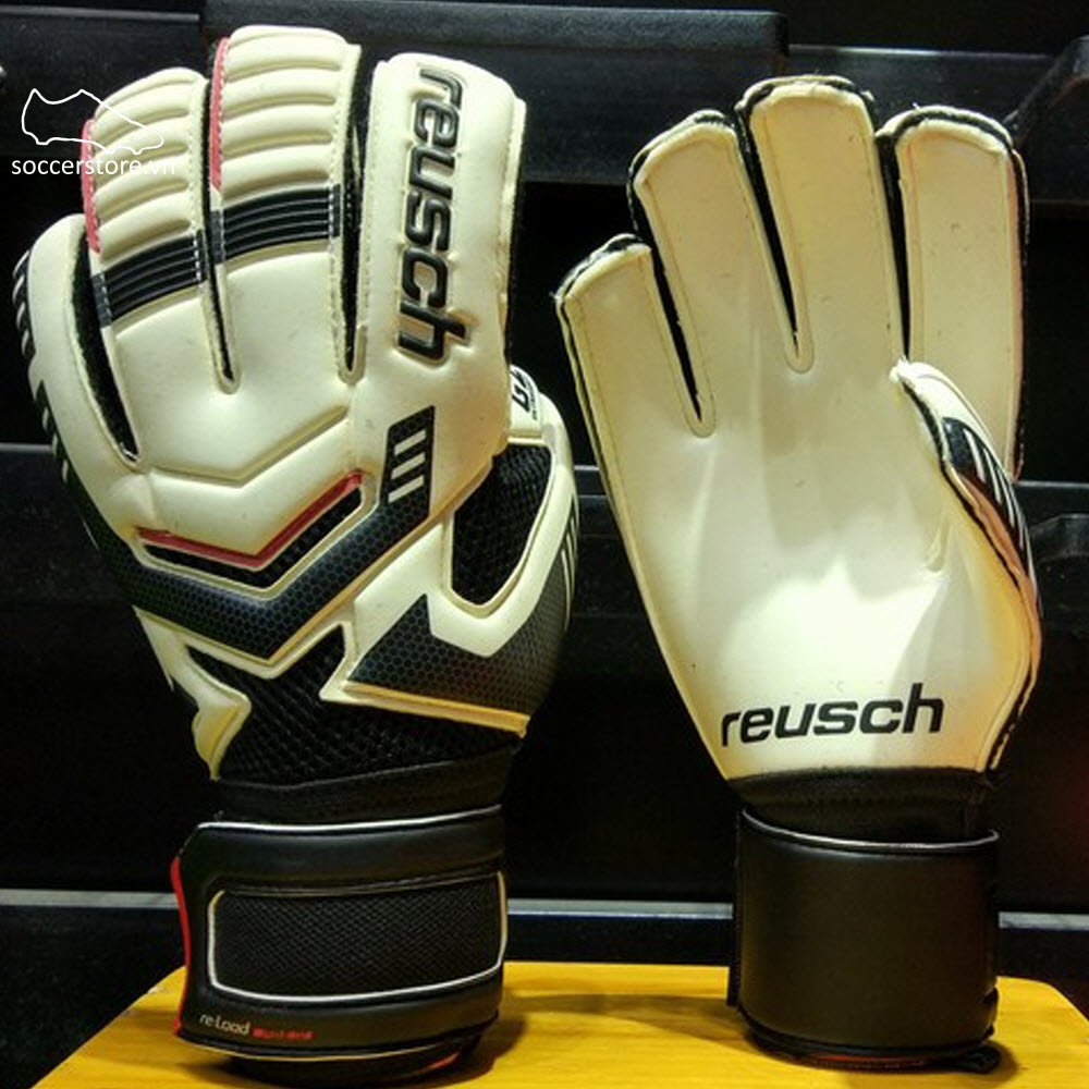 Reusch Reload Prime G2- White/ Black GK Gloves 3670965-101