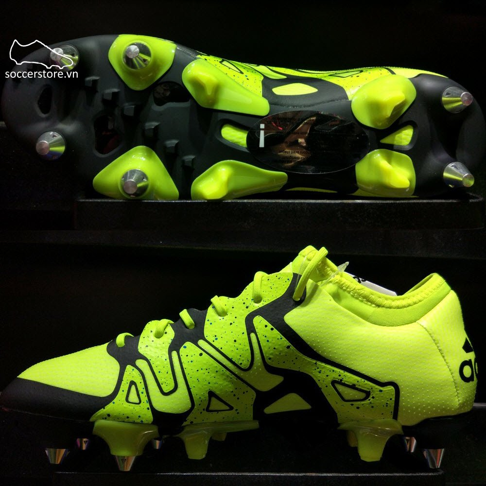 Adidas X 15.1 SG- Solar Yellow/ Core Black B32775