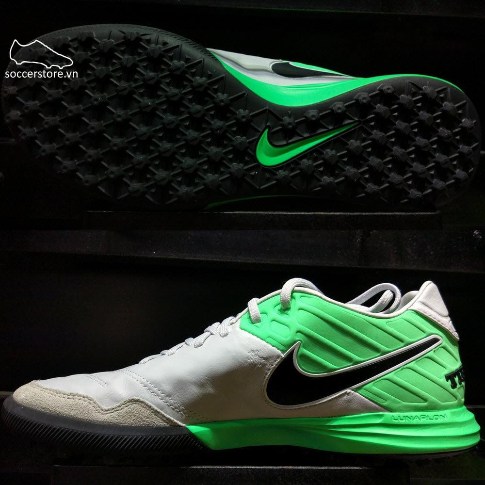 Nike TiempoX Proximo II TF - Pure Platinum/ Black/ Electro Green 843962-004