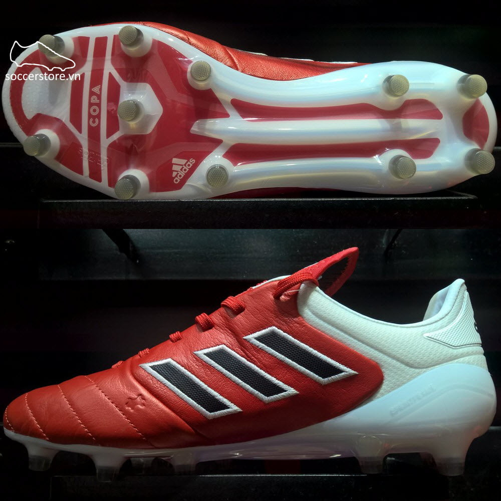 Adidas Copa 17.1 FG- Red/ Core Black/ White BB3551