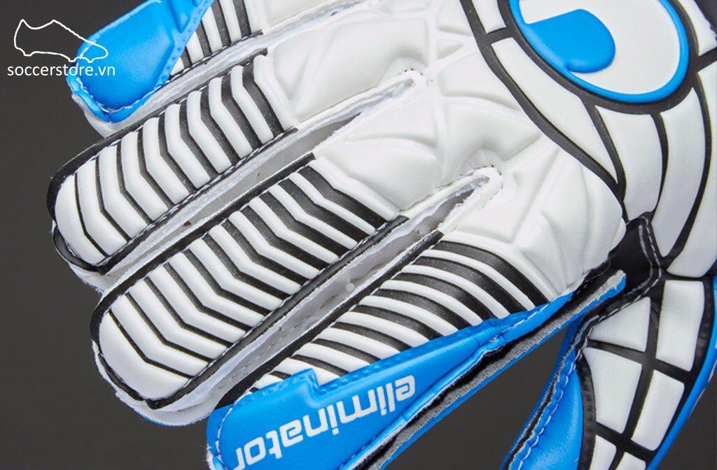 Uhlsport Eliminator Soft SF Junior- White/ Red/ Energy Blue GK Gloves 1000177-01