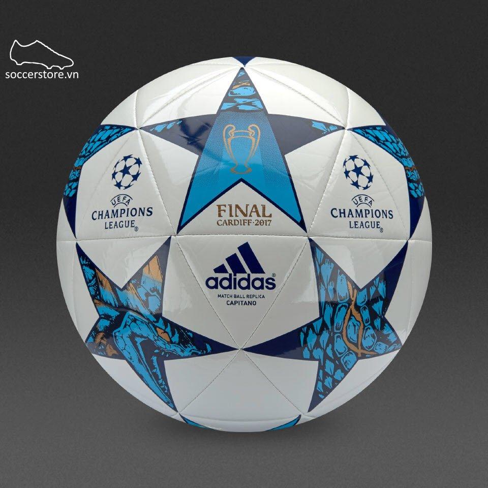 Adidas Finale Cadiff Capitano- White/ Mystery Blue/ Cyan AZ5204