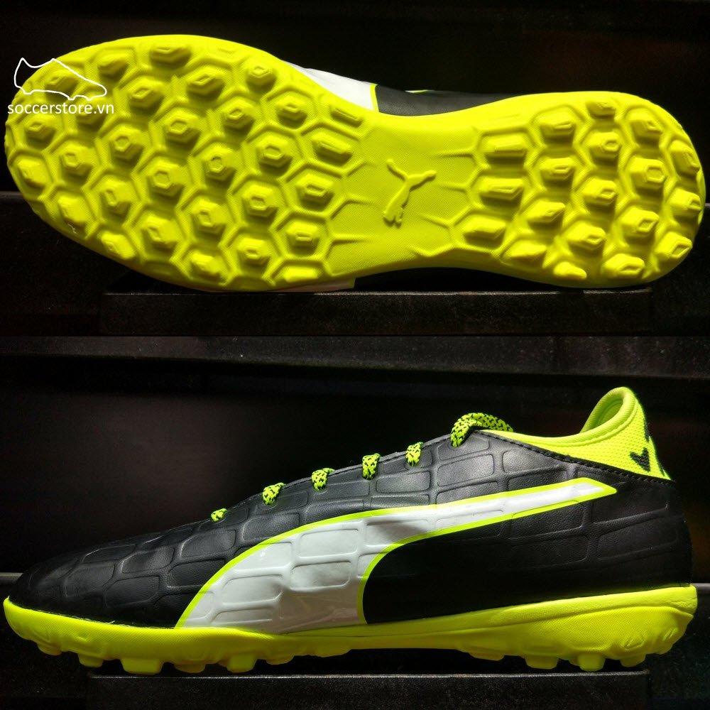 Puma evoTOUCH 3 TT- Black/ White/ Safety Yellow 103754-01