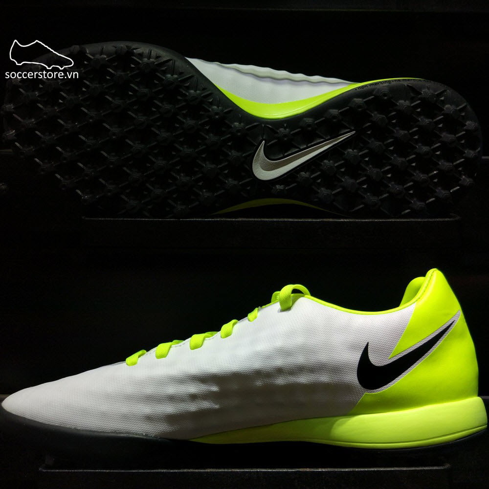 Nike Magista Onda II TF- White/ Black/ Volt 844417-109