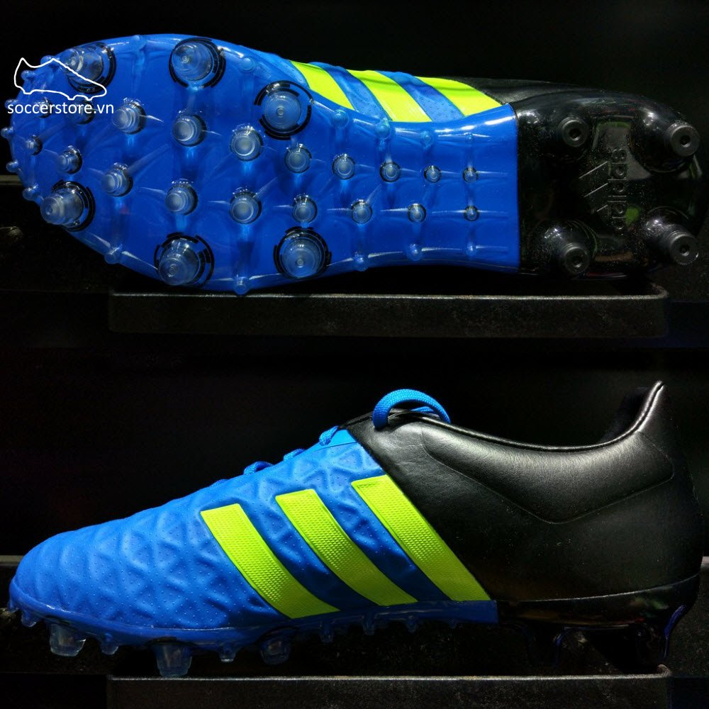 Adidas Ace 15.2 FG/AG- Solar Blue/ Solar Yellow/ Core Black B32833