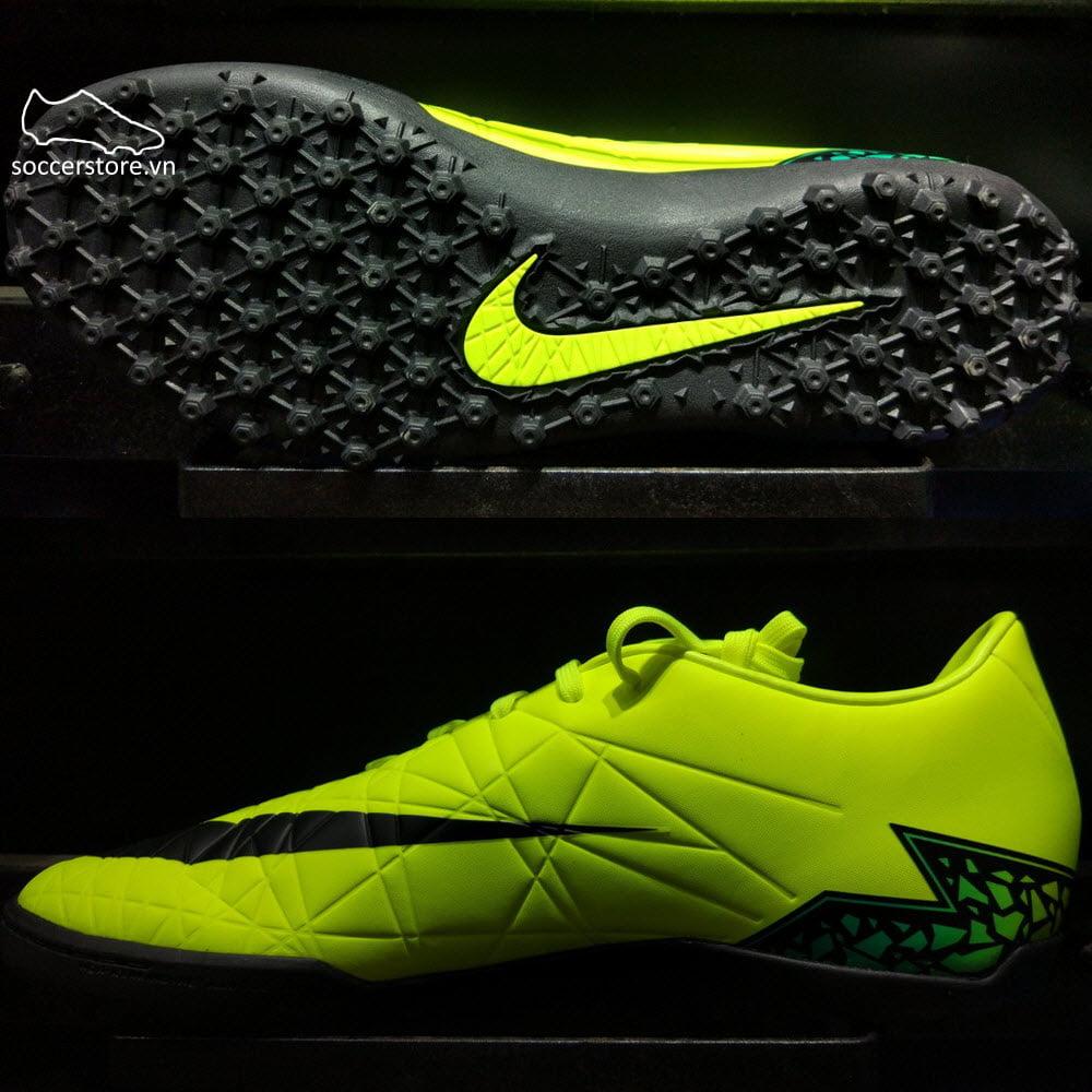 Nike Hypervenom Phelon II TF- Volt  Black  Hyper Turquoise 749899-703 1dc6f8379302d