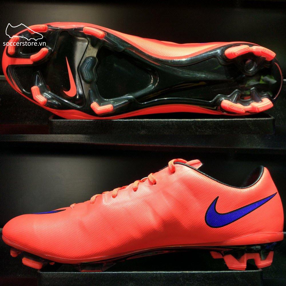 Nike Mercurial Veloce II FG- Bright Crimson/ Persian Violet/ Black 651618-650