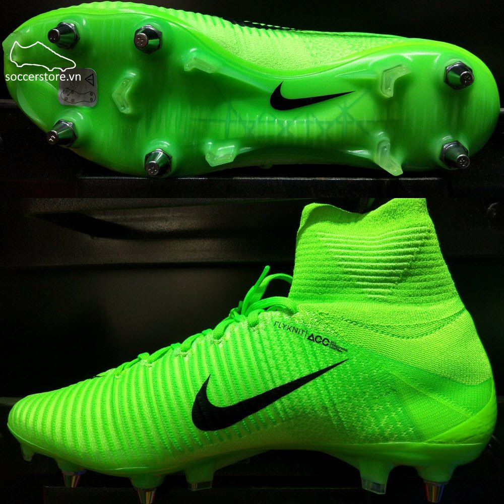 check out 318be dc1bb Nike Mercurial Superfly V SG Pro - Electric Green/ Black ...