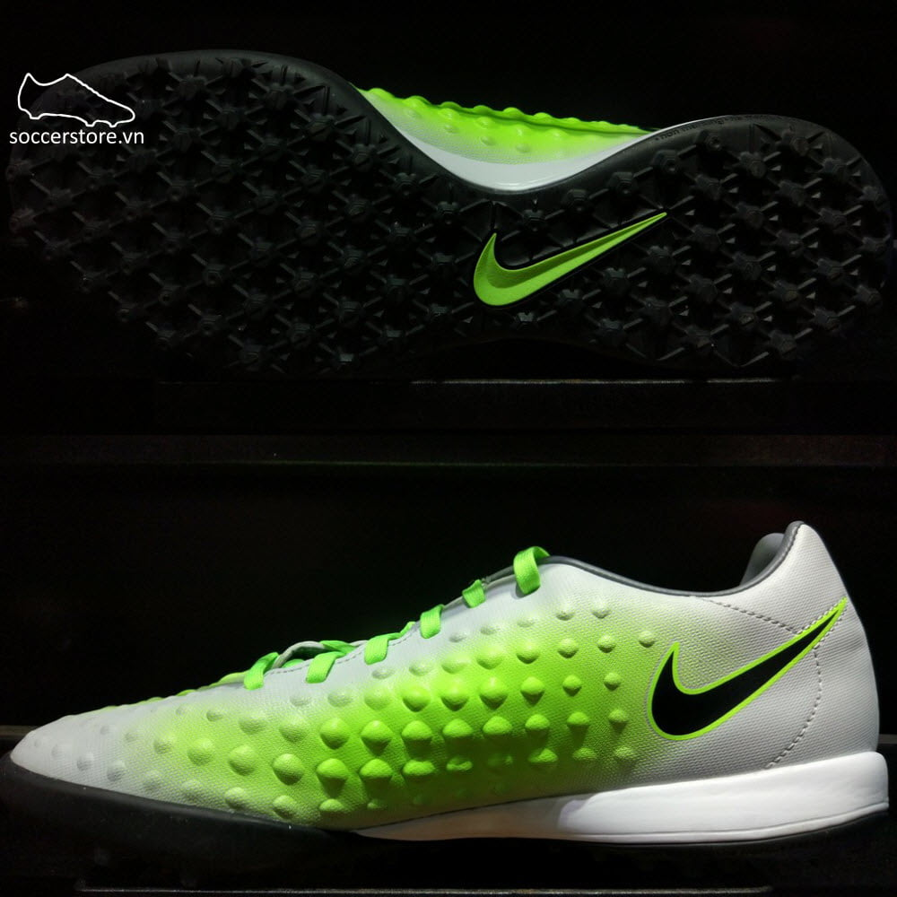 Nike Magista Onda II TF- Pure Platinum/ Black/ Ghost Green 844417-003