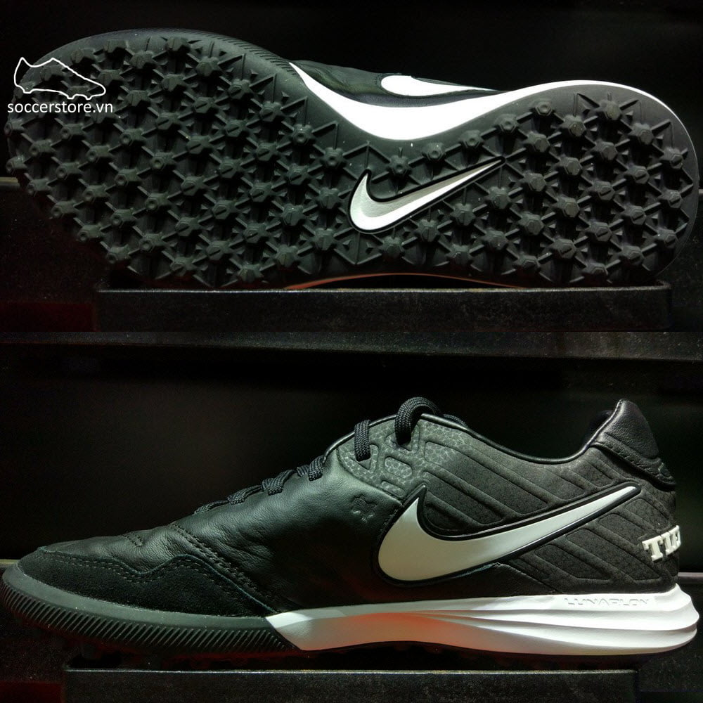 Nike TiempoX Proximo TF- Black/ White 843962-009