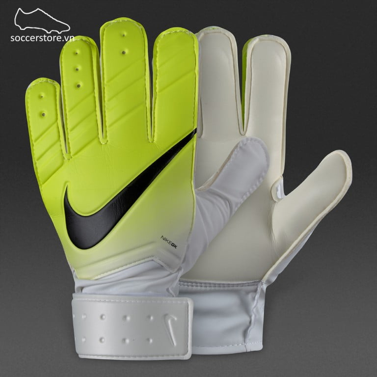 Nike GK Match Kids- White/ Volt/ Black GS0331-100