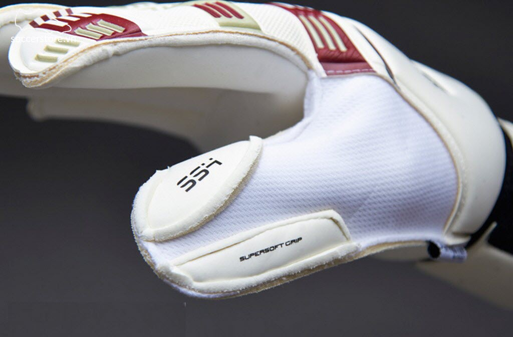 Sells Total Contact Supersoft 4 Kids- White/ Maroon GK Gloves
