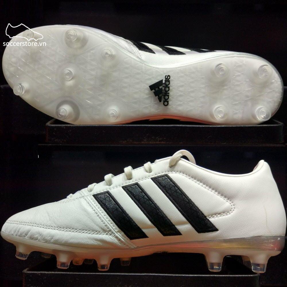 Adidas Gloro 16.1 FG- White/ Core Black/ Matte Silver AF4858