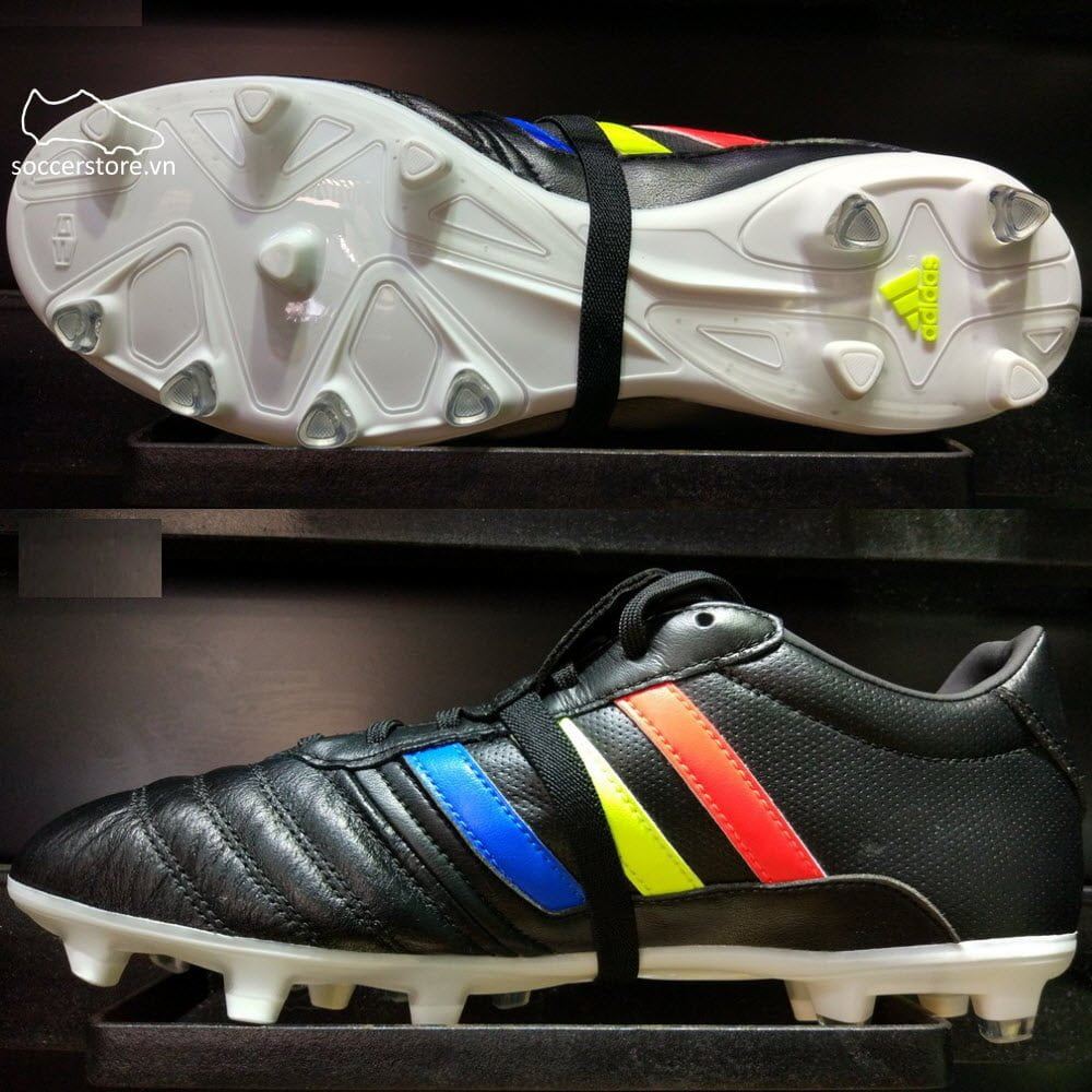 Adidas Gloro 15.1 FG- Core Black/ Solar Yellow/ White BA9882