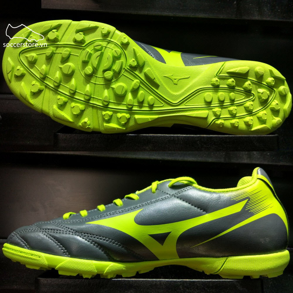 Mizuno Monarcida NEO AS (TF)- Grey/ Green P1GD172437