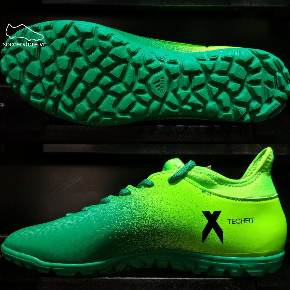 Adidas X 16.3 TF- Solar Green/ Core Black/ Core Green BB5875