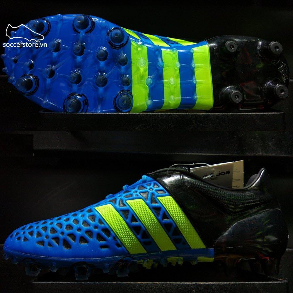 Adidas Ace 15.1 FG/AG- Solar Blue/ Solar Yellow/ Core Black B32859
