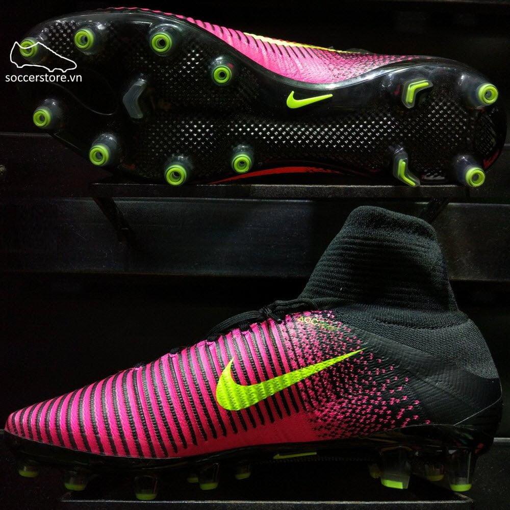 Nike Mercurial Superfly V AG Pro- Total Crimson/ Volt/ Pink Blast 831955-870