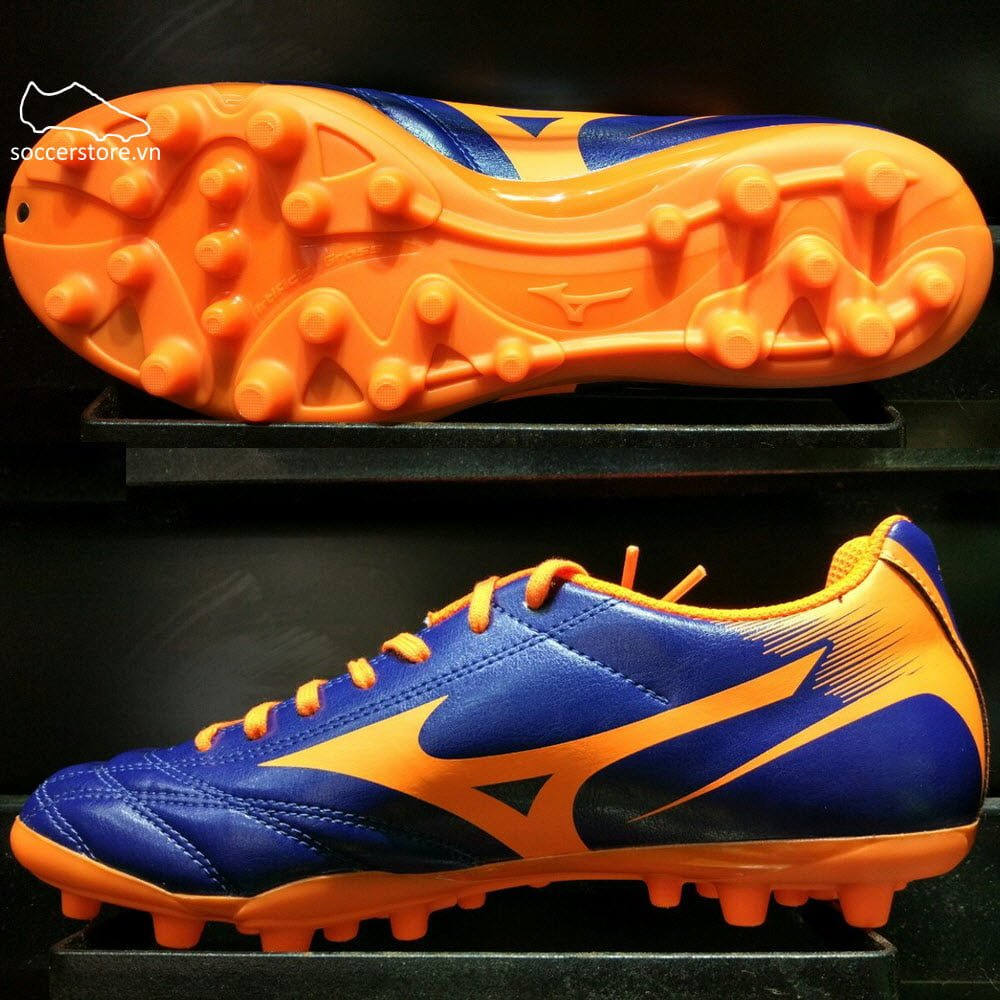 Mizuno Monarcida NEO AG- Dark Blue/ Fluorescent Orange P1GA172554