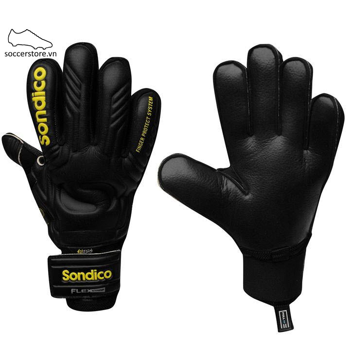 Sondico Aqua Elite- Black/ Yellow GK Gloves
