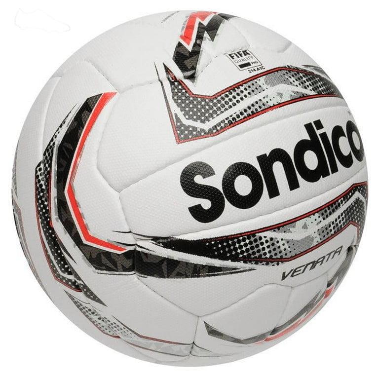Bóng Sondico Venata- White/ Silver/ Red