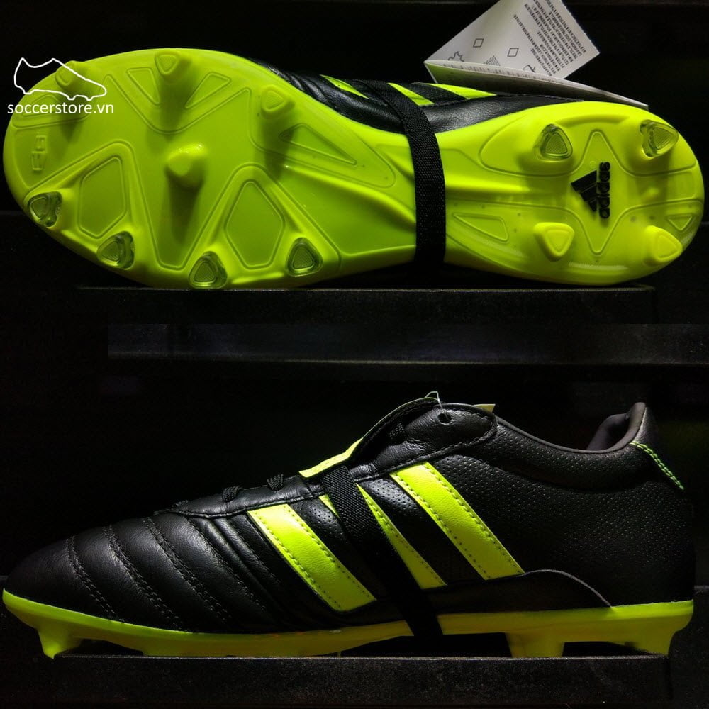 Adidas Gloro 15.1 FG- Black/ Yellow S76671