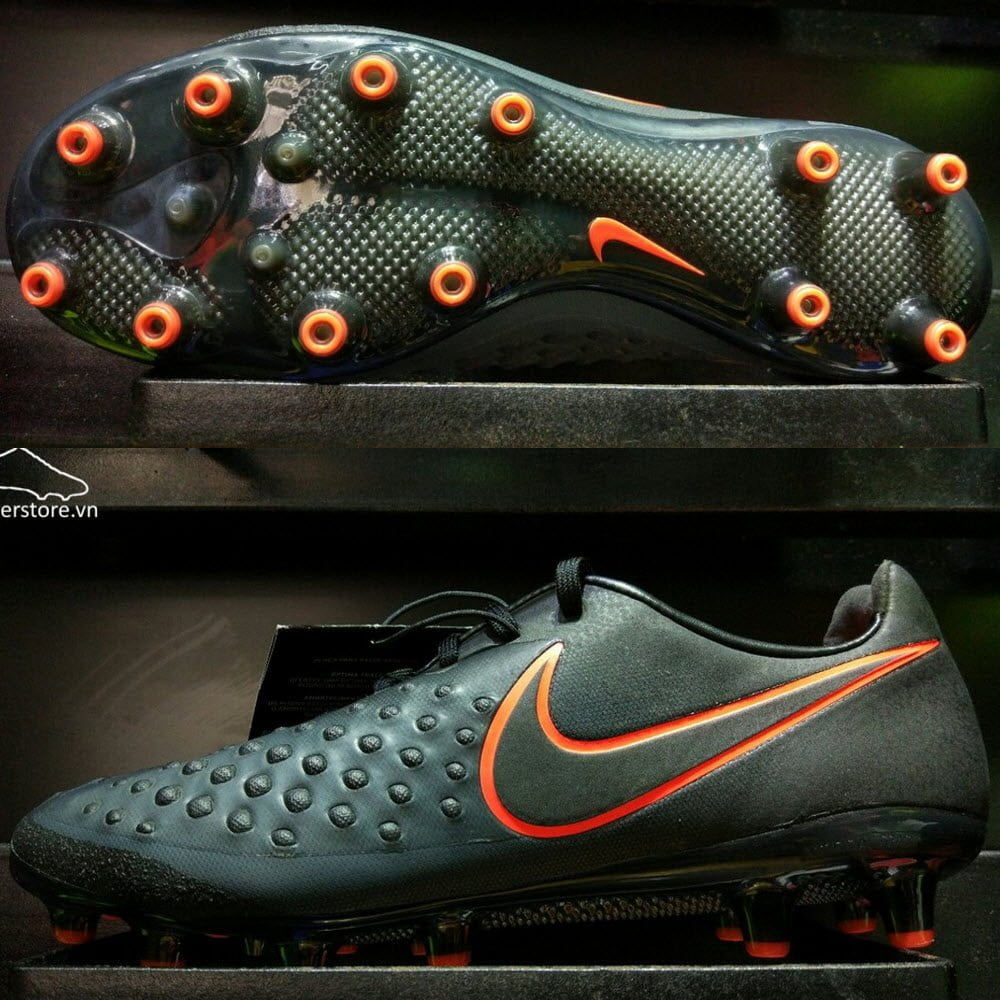 Nike Magista Opus II AG Pro- Black/ Total Crimson 843814-008
