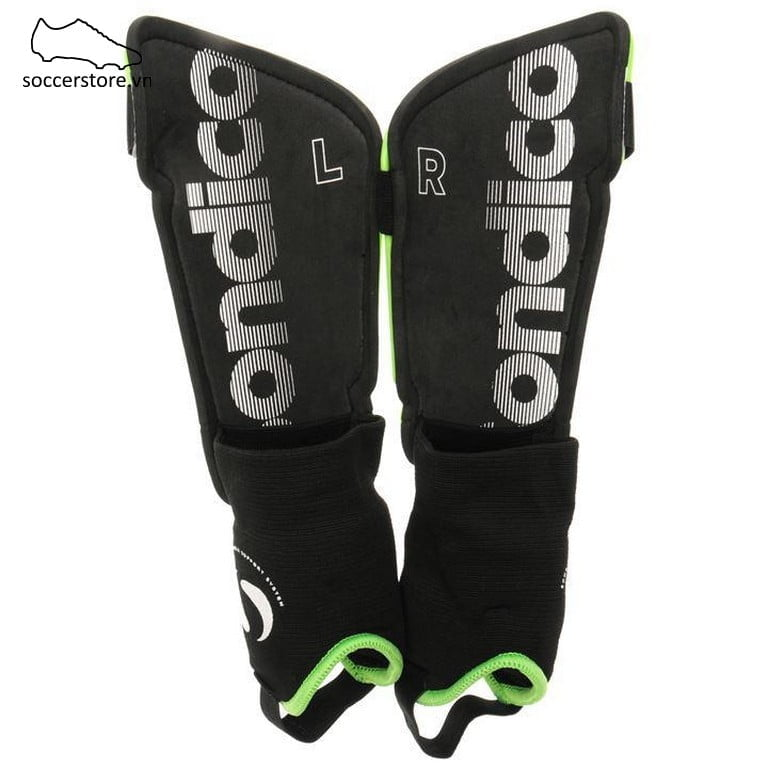 Lót ống đồng Sondico Flair Ankle Shinguards- Green/ Black SON812017-02