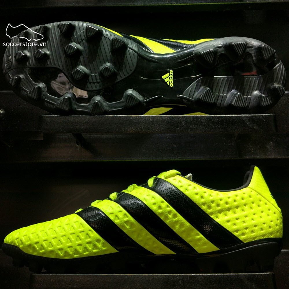 new york 1e39e 8d826 Adidas Ace 16.4 AG- Solar Yellow/ Core Black/ Silver ...