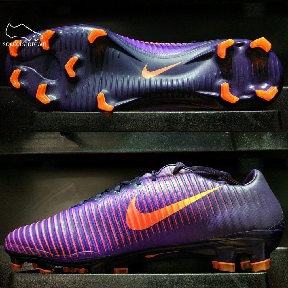 Nike Mercurial Vapor XI FG- Purple Dynasty/ Bright Crimson/ Hyper Grape 831958-585