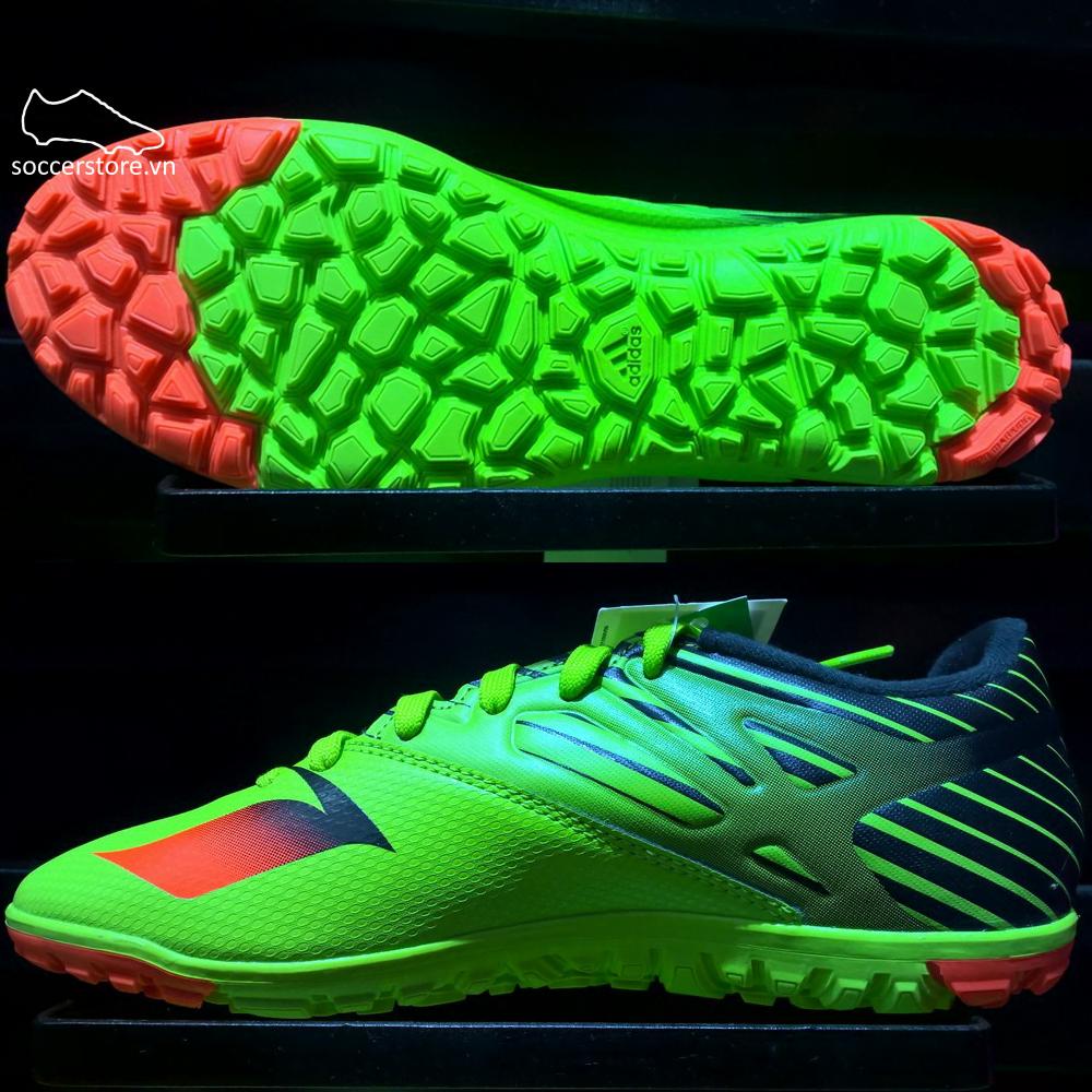 Adidas Messi 15.3 Kids TF- Semi Solar Slime/ Solar Red/ Core Black S74697