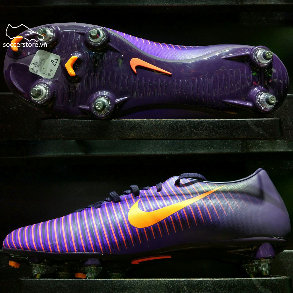 Nike Mercurial Victory VI SG- Purple Dynasty/ Bright Crimson/ Hyper Grape 831967-585
