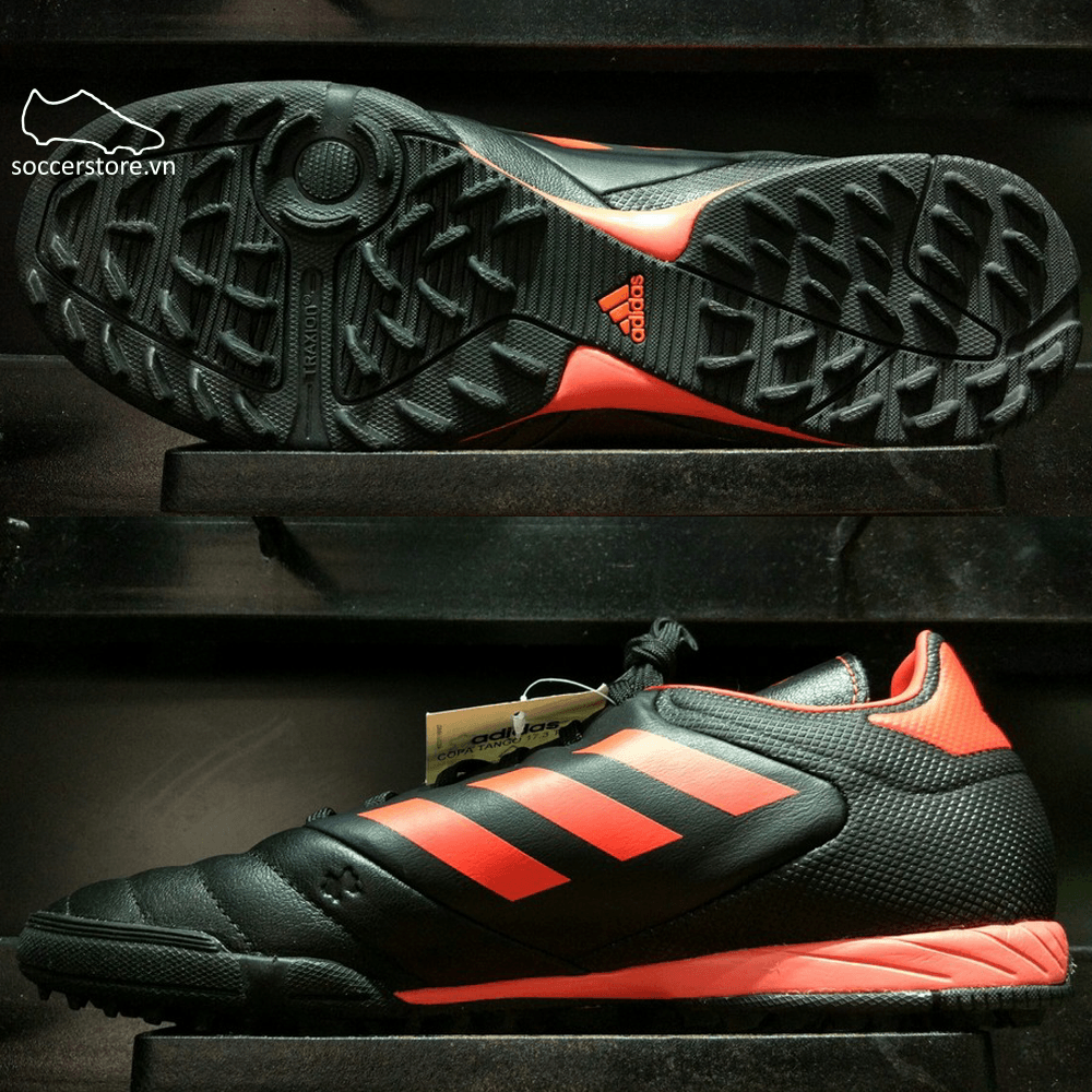 Adidas Copa Tango 17.3 TF- Core Black/ Solar Red/ Solar Orange BB6100